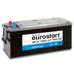 EUROSTART POWER PLUS 69018 190Ah akumuliatorius