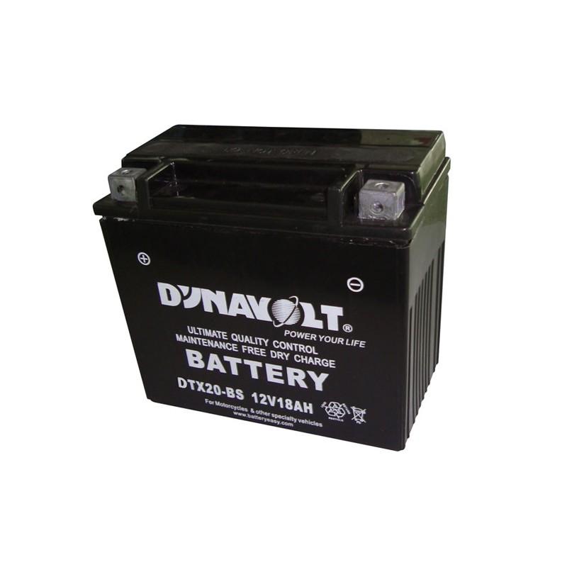 DYNAVOLT DTX20-BS (51802) 18Ач аккумулятор