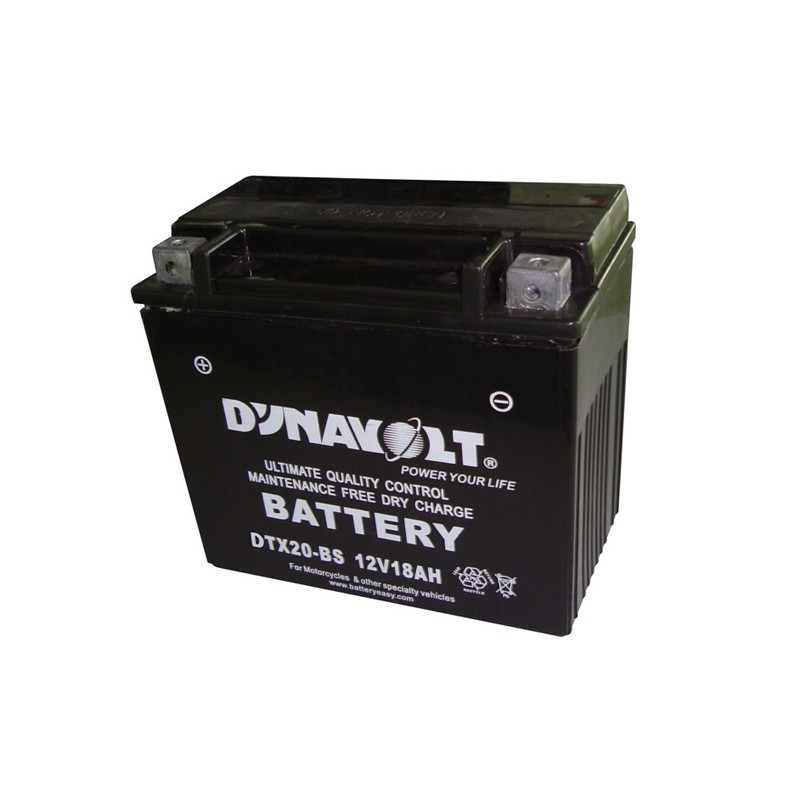 DYNAVOLT DTX20-BS (51802) 18Ah battery