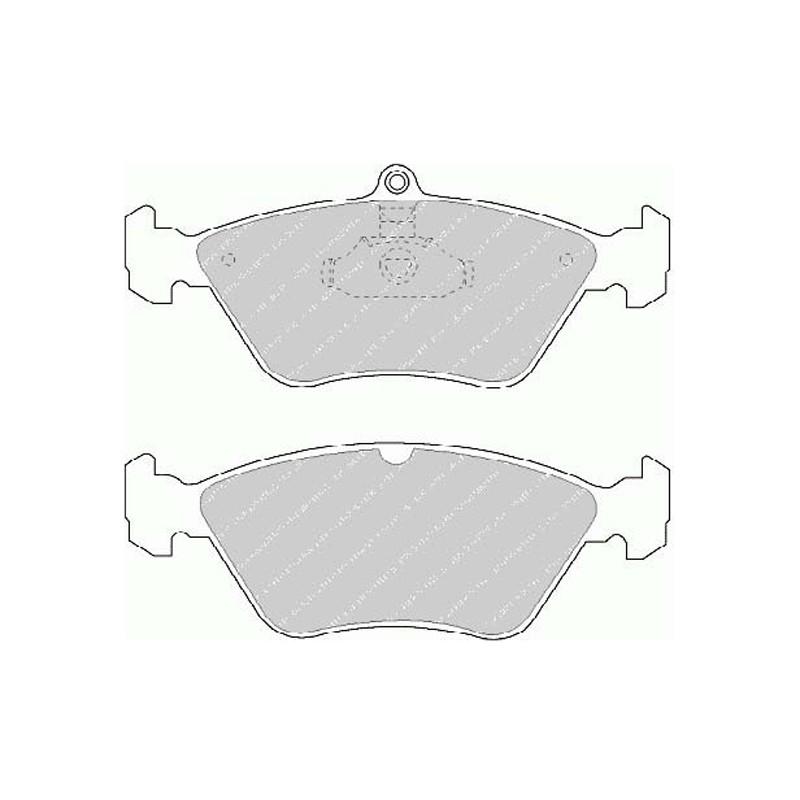 Disk brake pads EGT 321513