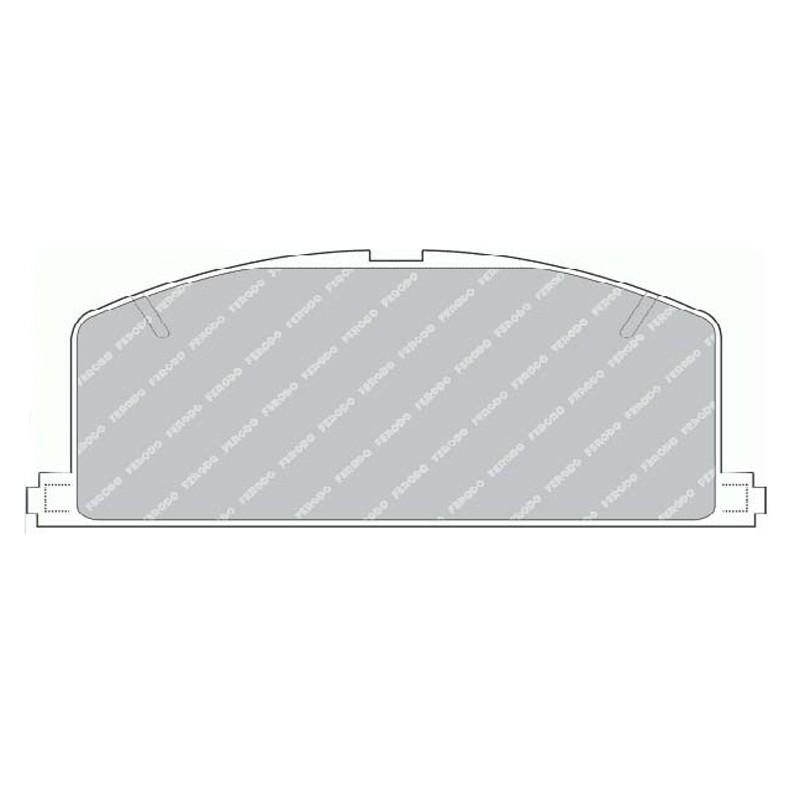 Disk brake pads FTH 308 (EGT 321418)