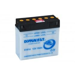 DYNAVOLT 51814 19Ач аккумулятор