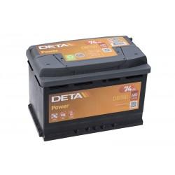 DETA DP19 (DB740) 74Ah akumuliatorius