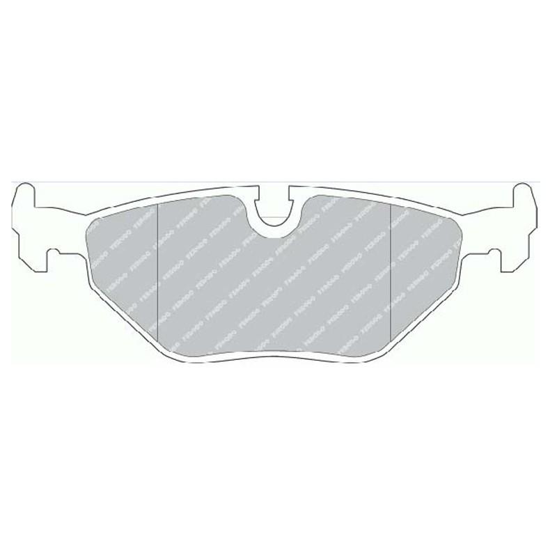 Disk brake pads EGT 321436