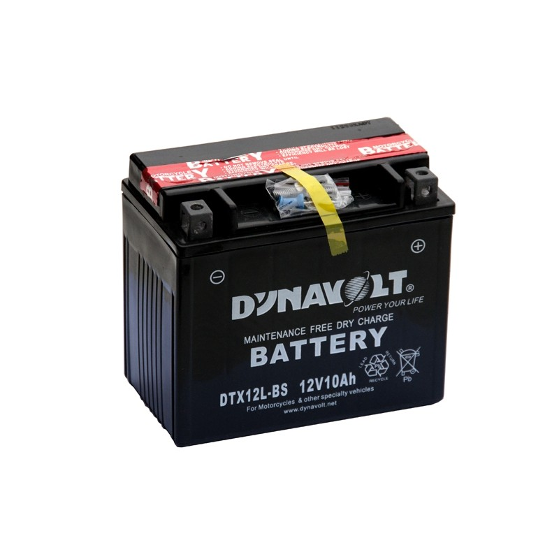 DYNAVOLT DTX12L-BS 10Ah battery