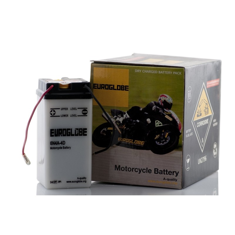 EUROGLOBE 6N4A-4D (00413) 4Ah akumuliatorius