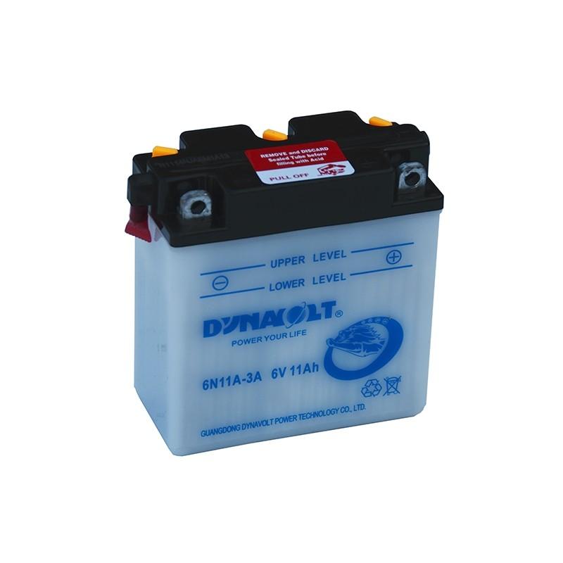 DYNAVOLT 6N11A-3A (01214) 11Ah akumuliatorius