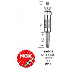 Свеча накаливания NGK DP01-Y924J (7906)