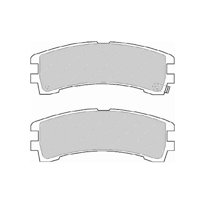 Disk brake pads FTH 1029 (EGT 321544)