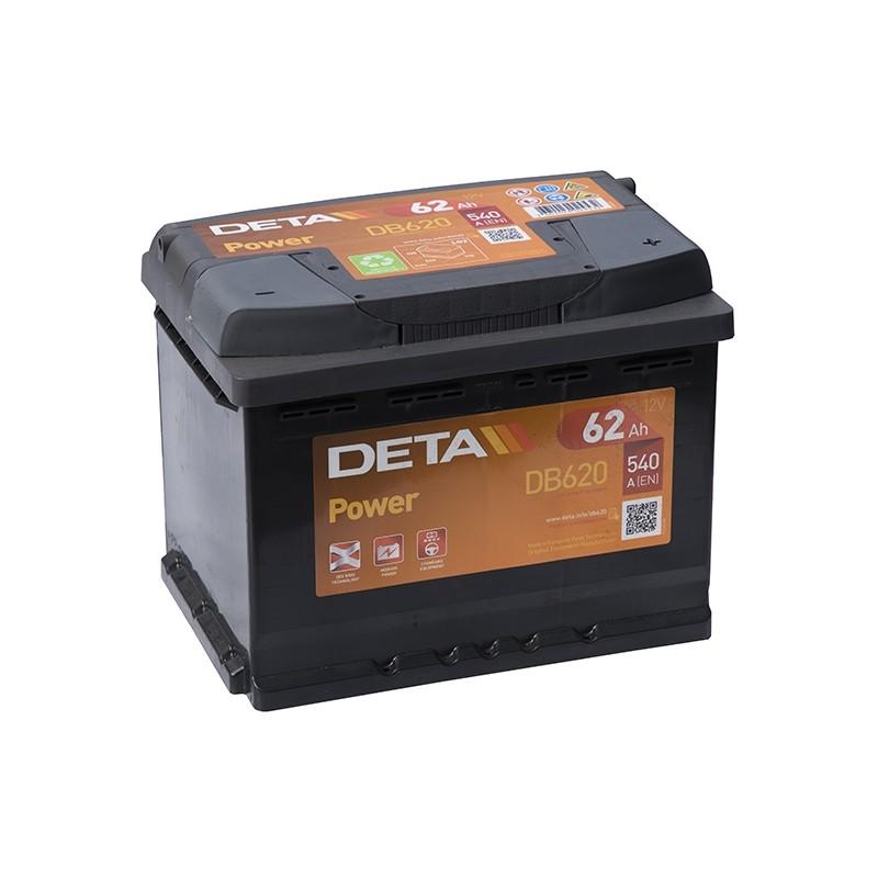 DETA DP12 (DB620) 62Ah akumuliatorius