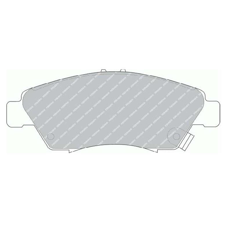Disk brake pads EGT 321508