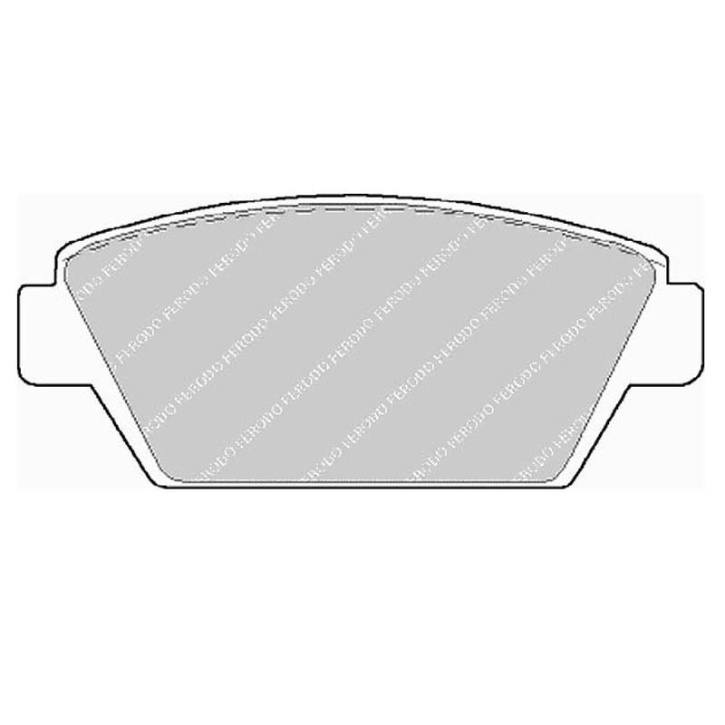 Disk brake pads EGT 321497