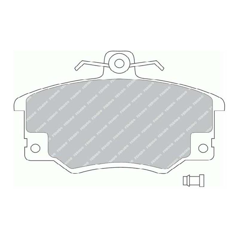 Disk brake pads EGT 321414