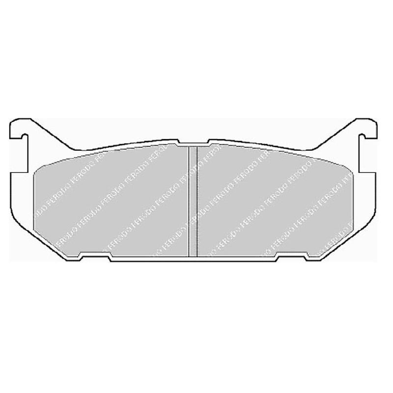 Disk brake pads EGT 321485
