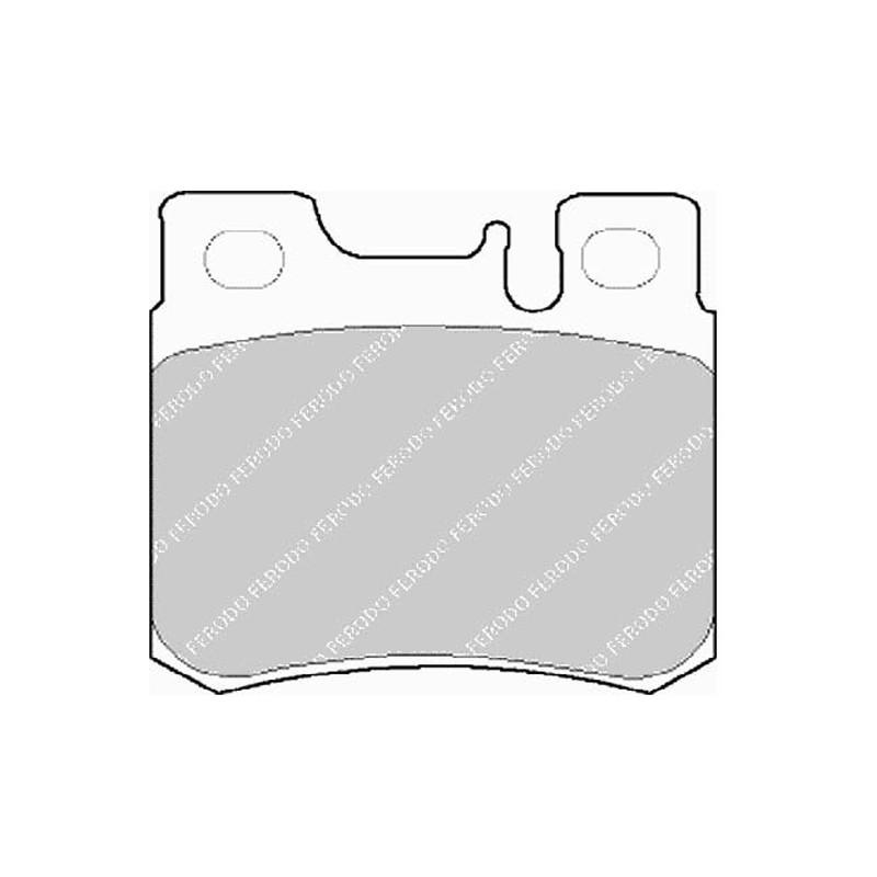 Diskinės stabdžių trinkelės EGT 321541