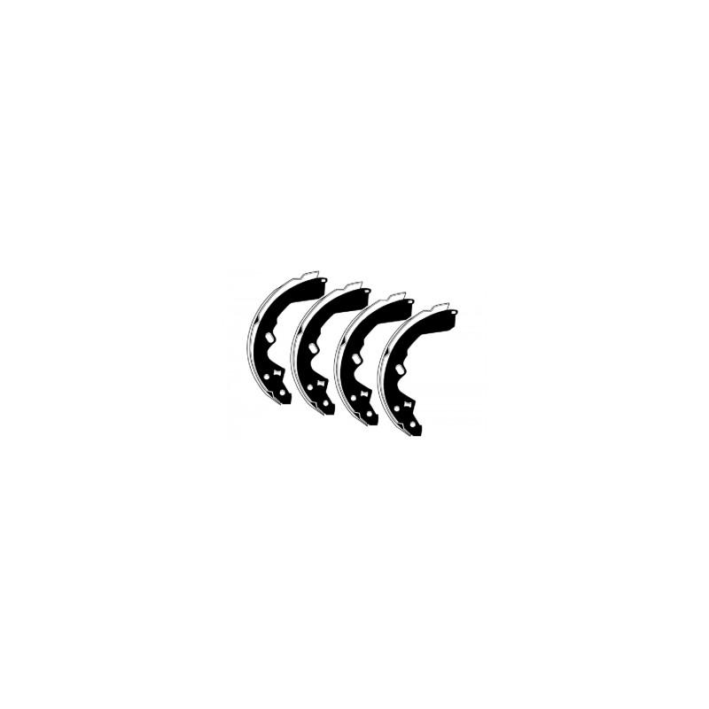 Барабанные тормозные колодки FTH 321 (EGT 421435)
