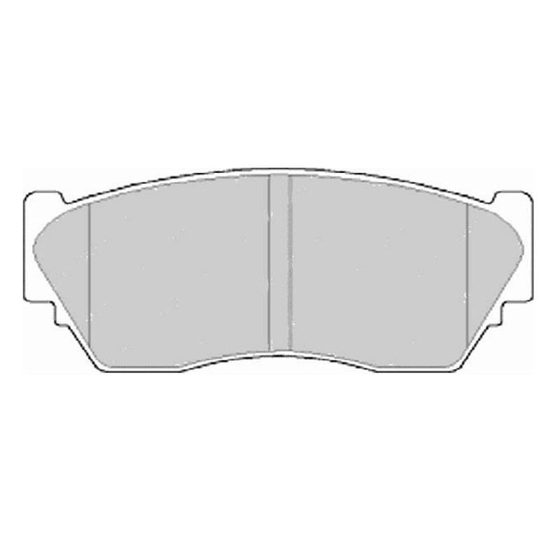 Diskinės stabdžių trinkelės EGT 321480