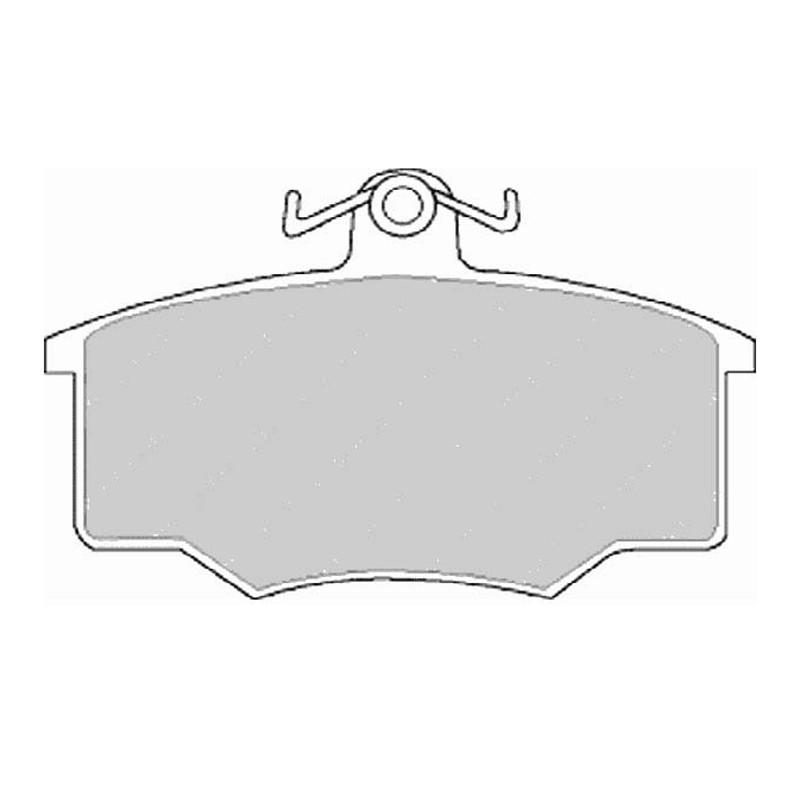 Disk brake pads EGT 321403