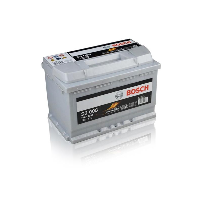 BOSCH S5008 (577400078) 77Ah akumuliatorius