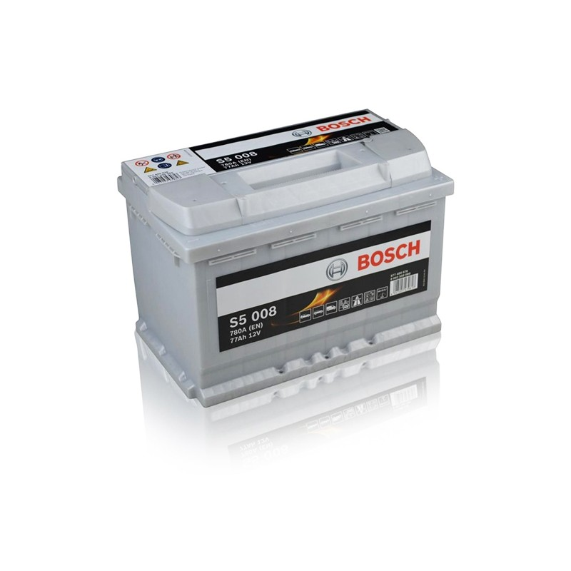 BOSCH S5008 (577400078) 77Ah battery