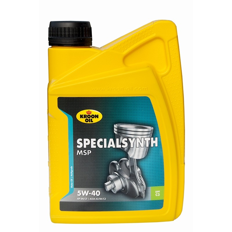 Fully synthetic motor oil KROON OIL Special Synth 5W/40 (1 ltr.)