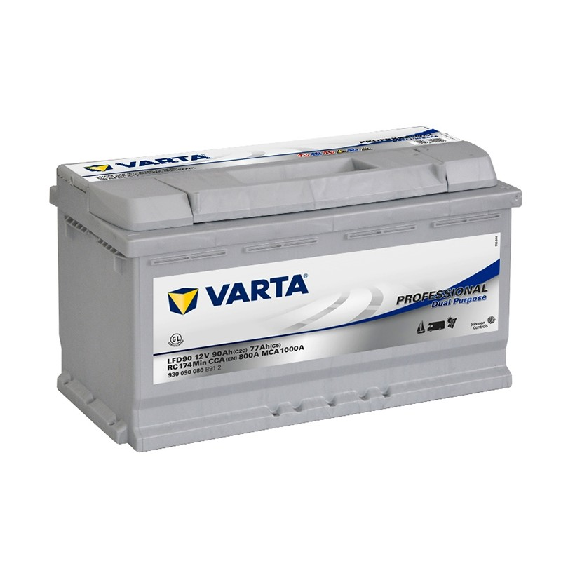 VARTA Professional Deep Cycle LFD90 90Ah akumuliatorius