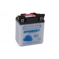 DYNAVOLT 6N6-3B-1 (00612) 6Ач аккумулятор