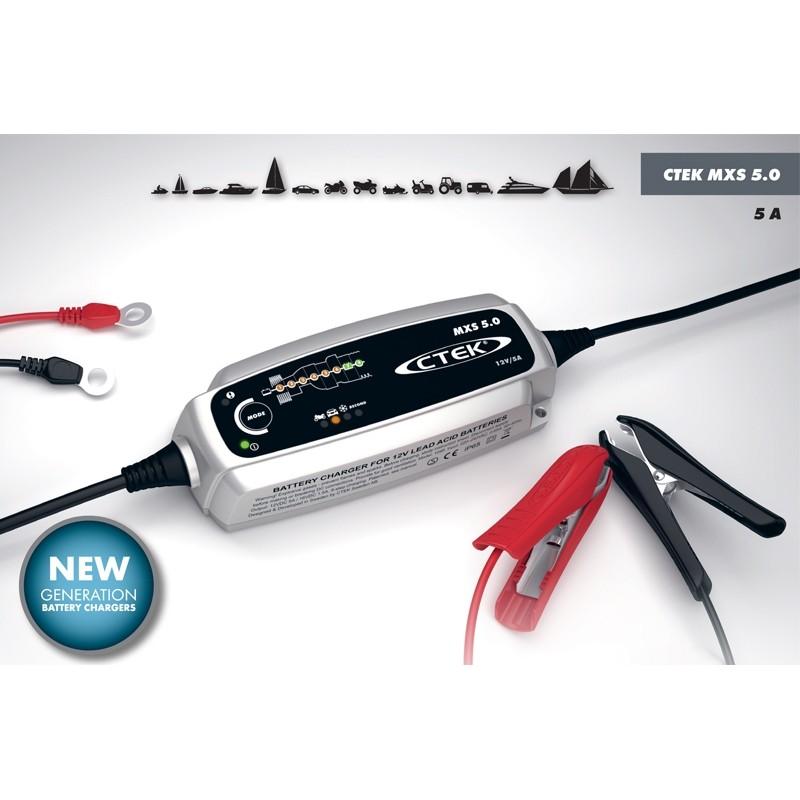Зарядное устройство аккумуляторов CTEK MXS 5.0