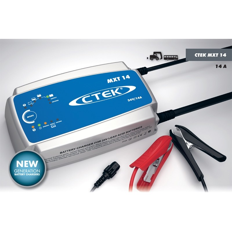 Impulsinis įkroviklis akumuliatoriams CTEK MXT 14