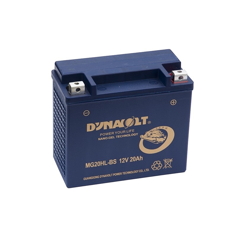 DYNAVOLT MG20HL-BS 20Ah akumuliatorius
