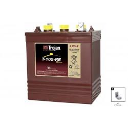 TROJAN T105RE 225Ah deep cycle battery