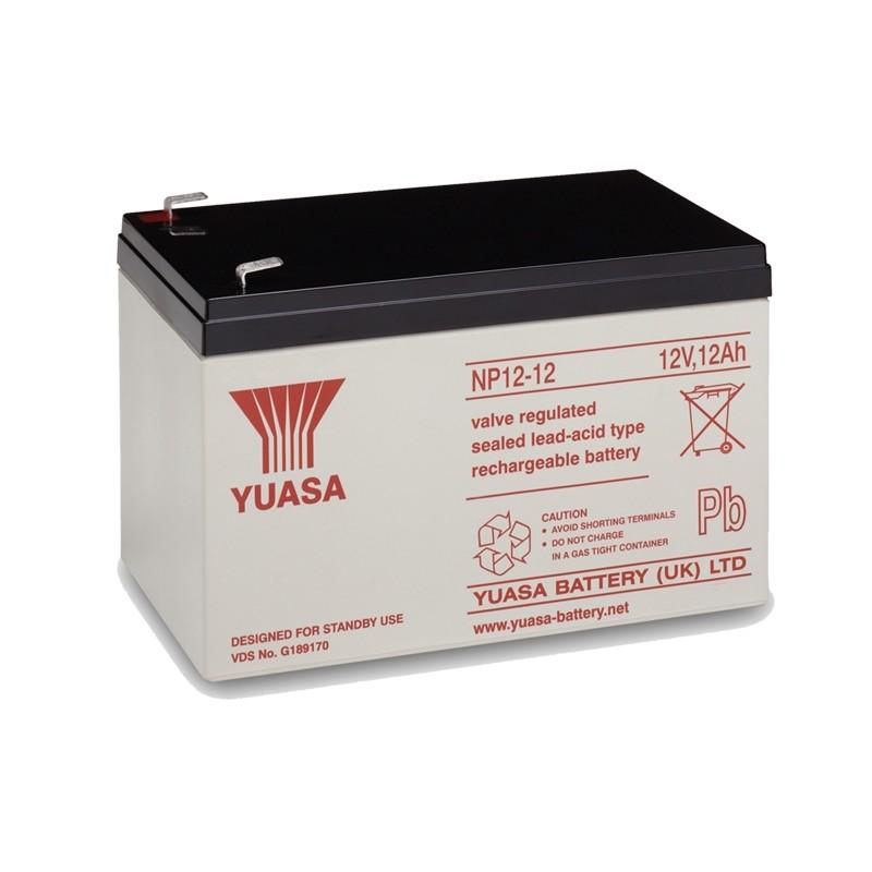 YUASA NP12-12 12V 12Ah AGM VRLA battery
