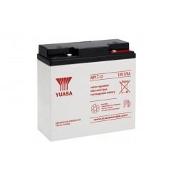 YUASA NP17-12 12В 17Ач AGM VRLA аккумулятор