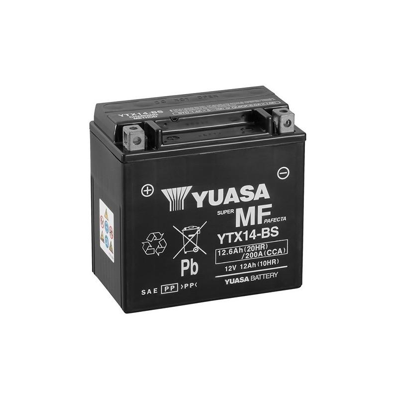 YUASA YTX14-BS 12.6Ah (C20) battery