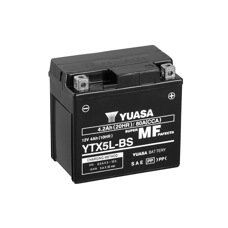 YUASA YTX5L-BS 4.2Ah (C20) battery