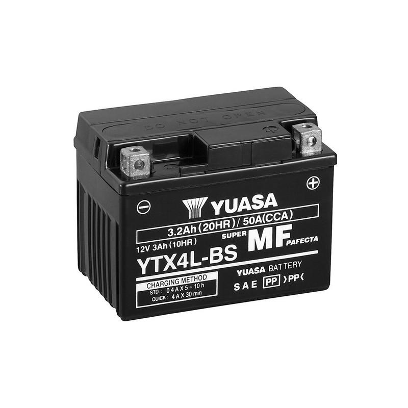YUASA YTX4L-BS 3.2Ah (C20) battery