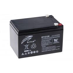 RITAR RT12120 12В 12Ач AGM VRLA аккумулятор