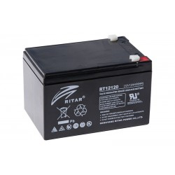 RITAR RT12120 12V 12Ah AGM VRLA battery
