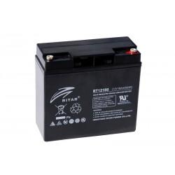 RITAR RT12180 12В 18Ач AGM VRLA аккумулятор