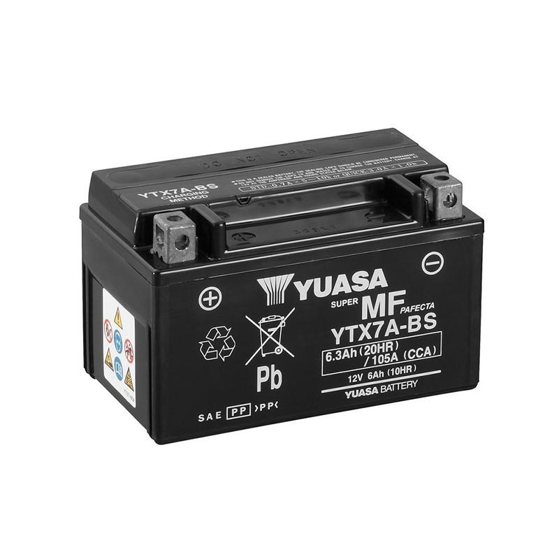 YUASA YTX7A-BS 6.3Ah (C20) battery