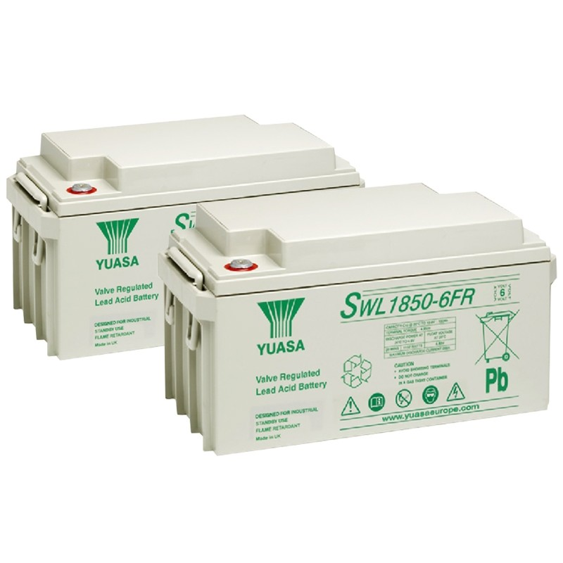 YUASA SWL serijos 6V AGM VRLA akumuliatoriai
