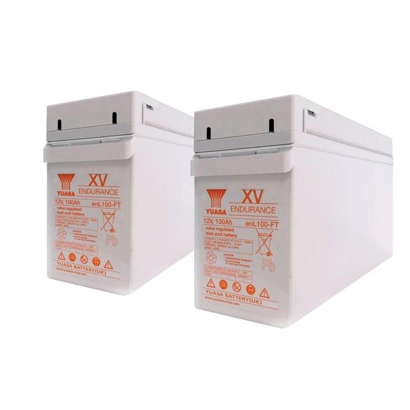 YUASA EN/ENL serijos 12V AGM VRLA akumuliatoriai