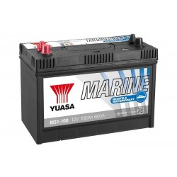 YUASA Marine M31-100 100Ач аккумулятор