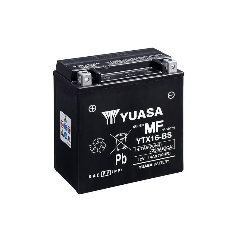 YUASA YTX16-BS 14.7Ah (C20) akumuliatorius