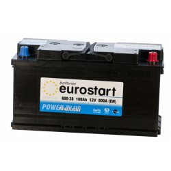 EUROSTART POWER PLUS 60038 100Ah akumuliatorius