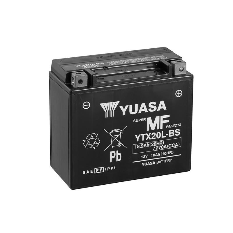 YUASA YTX20L-BS 18.9Ah (C20) battery