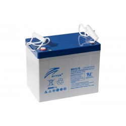 RITAR DG12-75 12V 75Ah GEL VRLA battery