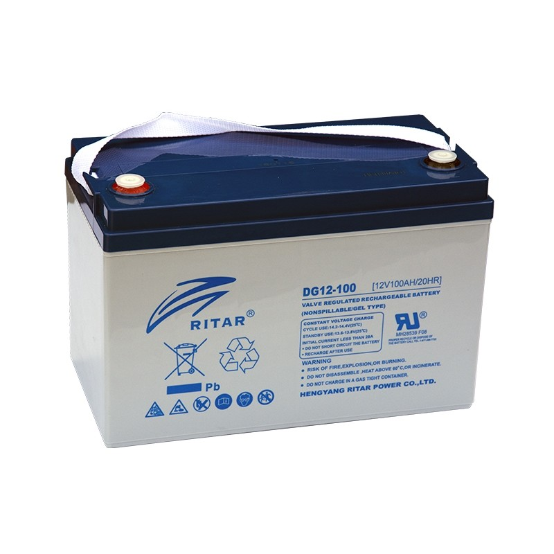 RITAR DG12-100 12V 100Ah GEL VRLA battery