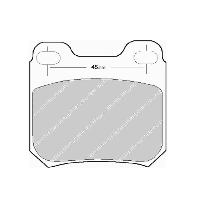 Diskinės stabdžių trinkelės EGT 321438