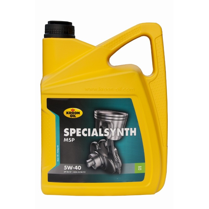 Fully synthetic motor oil KROON OIL Special Synth 5W/40 (5 ltr.)
